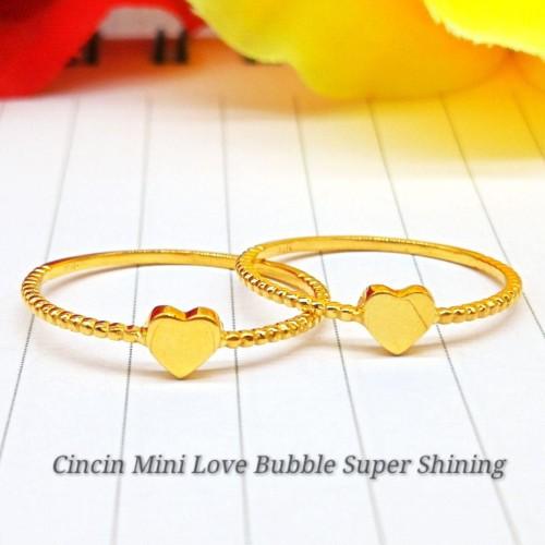 CINCIN MINI LOVE BUBBLE SUPER SHINING